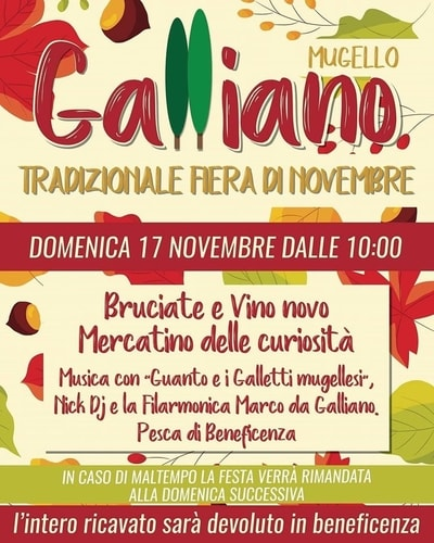 Fiera Novembre Galliano 2019