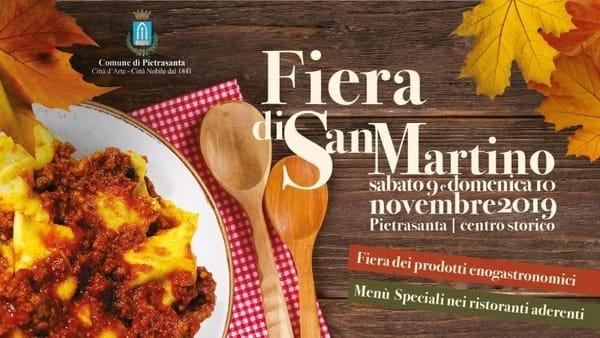 Fiera San Martino Pietrasanta 2019