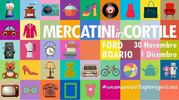 Mercatini in cortile Lucca 2019