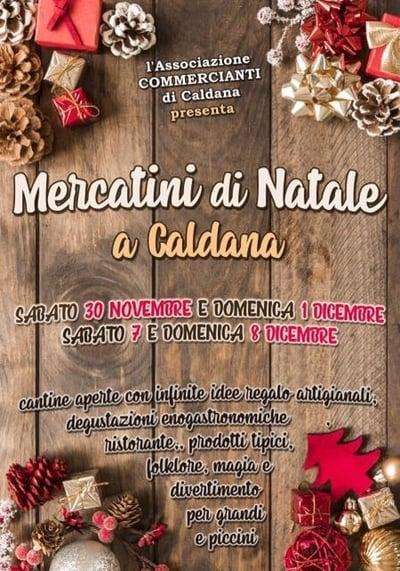 Mercatini Natale Caldana 2019