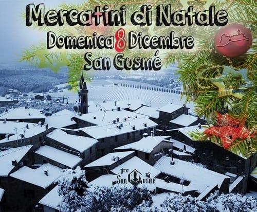 Mercatino Natale San Gusme 2019