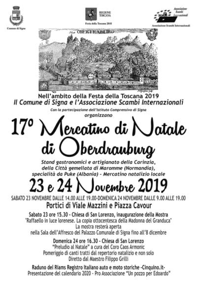 Mercatino Natale Signa 2019