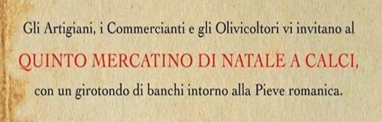 Mercatino Natalizio Calci