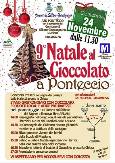 Natale Cioccolato Ponteccio 2019