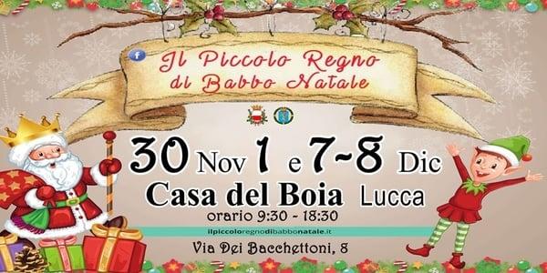 Piccolo Regno Babbo Natale Lucca