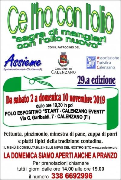 Sagra Olio Calenzano 2019