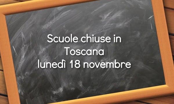 Scuole chiuse maltempo Toscana