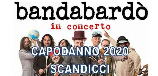 Capodanno 2020 a Scandicci Concerto Bandabardò - 31 Dicembre 2019