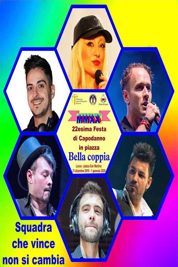 Capodanno in Piazza a Lucca 2020 - Piazza San Martino 31 Dicembre 2019