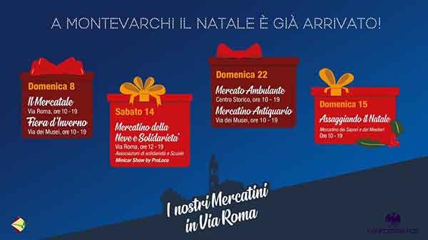 Natale a Montevarchi 2019 - Centro Storico