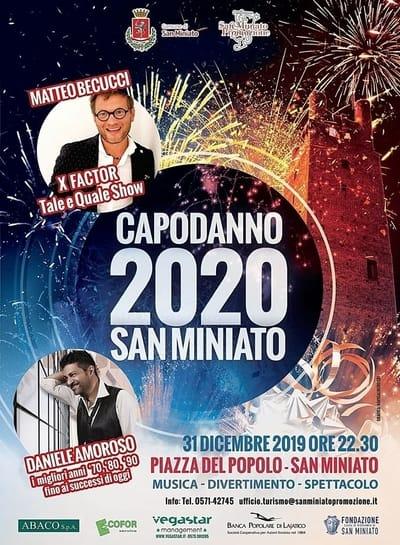 Capodanno 2020 San Miniato