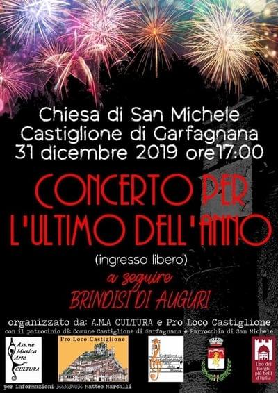 Concerto dell Ultimo dell Anno Castiglione di Garfagnana