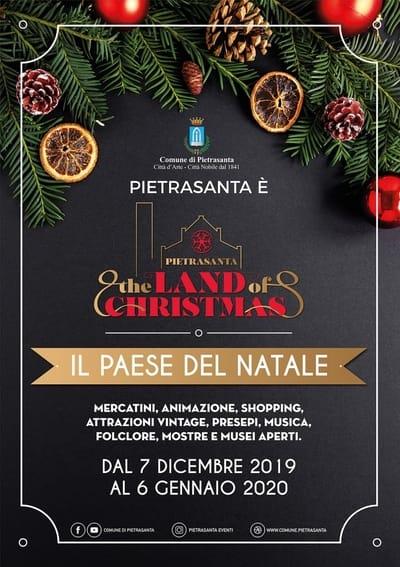 Eventi Natale Pietrasanta 2019