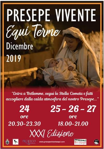 Presepe Equi Terme 2019