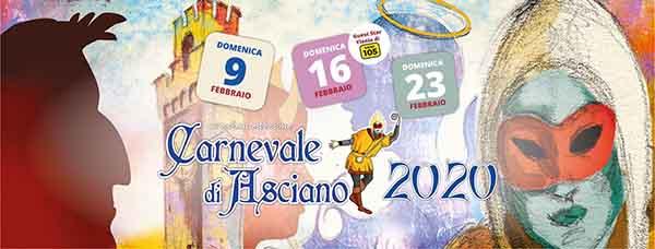 Carnevale di Asciano 2020 - Provincia di Siena
