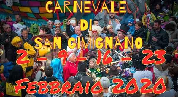 Carnevale di San Gimignano 2020 - Siena