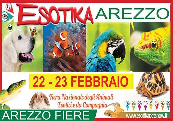 Esotika Arezzo 2020 - Fiera Nazionale degli Animali Esotici e da Compagnia