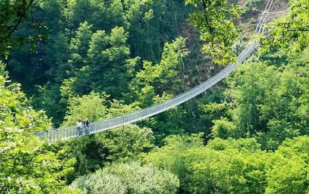 Il Ponte sospeso di San Marcello Pistoiese