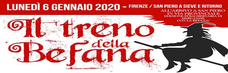 Il Treno della Befana da Firenze 2020 - San Piero a Sieve