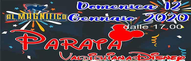 Parata Disney ad Arezzo presso il Cinema Al Magnifico - 12 Gennaio 2020