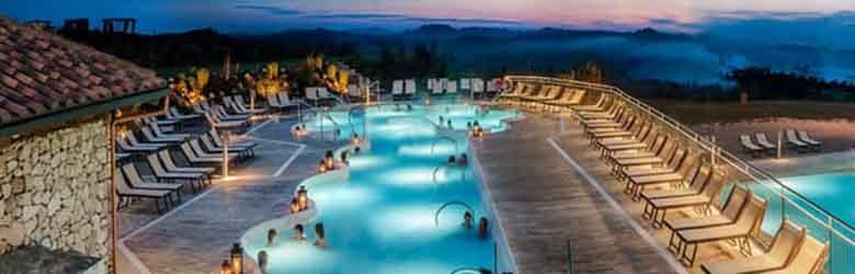Rapolano Terme piscine termali Spa centri benessere