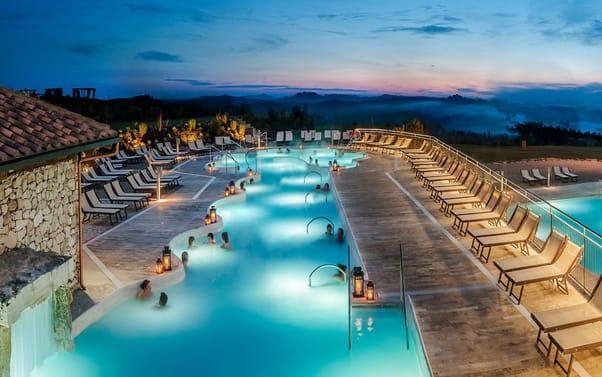Rapolano Terme piscine termali Spa e centri benessere