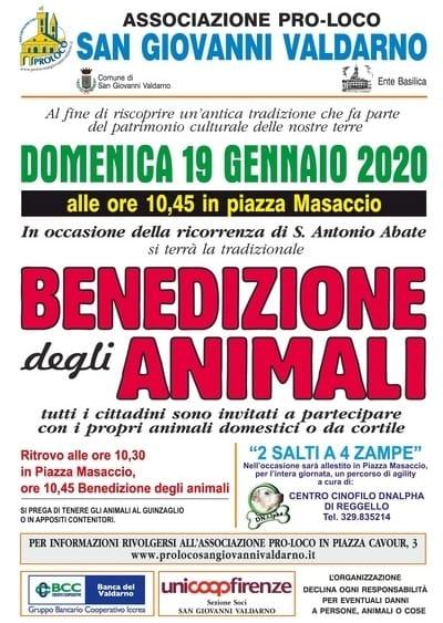 Benedizione Animali Valdarno 2020