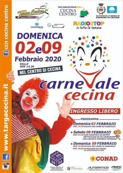 Carnevale a Cecina 2020