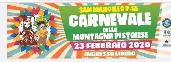 Carnevale San Marcello Piteglio