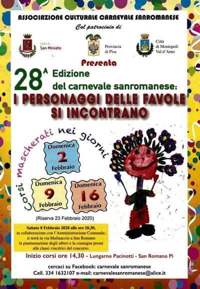 Carnevale San Romano 2020