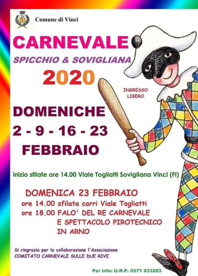 Carnevale Spicchio Sovigliana 2020