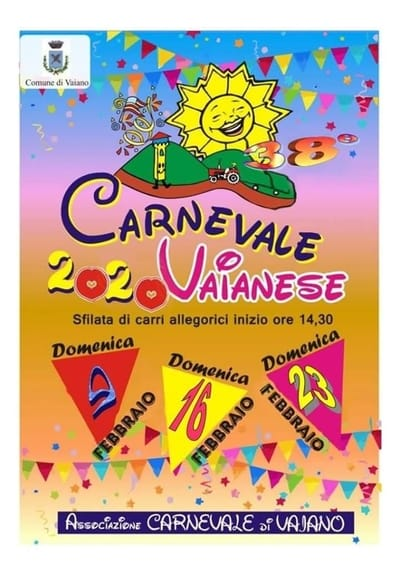 Carnevale Vaiano 2020