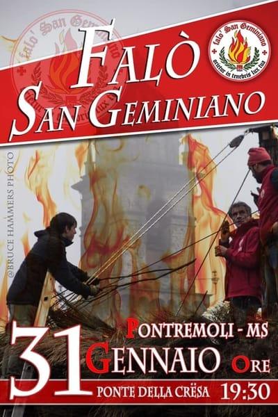 Falo San Geminiano 2020