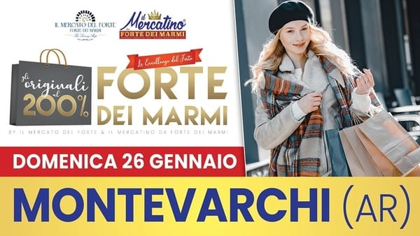 Mercatino da Forte dei Marmi Montevarchi