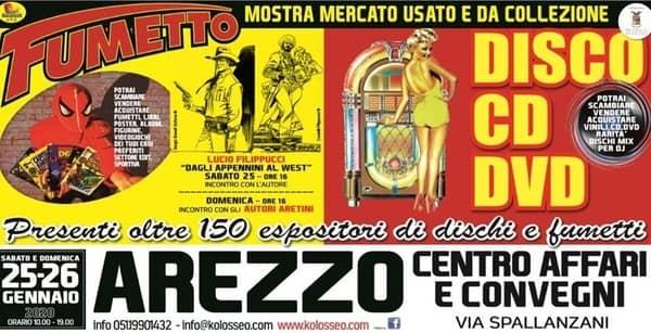 Mostra Fumetti Arezzo 2020