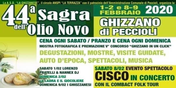 Sagra Olio Novo Ghizzano 2020