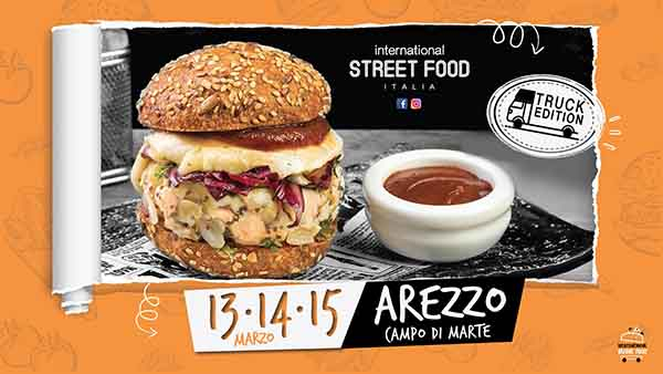 International Street Food Italia 2020 ad Arezzo - Campo di Marte