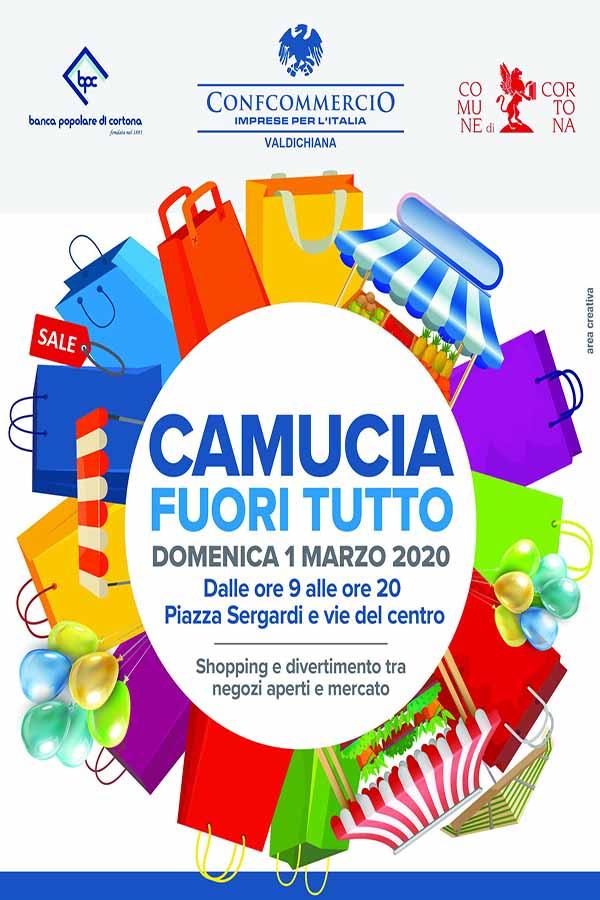 Manifesto Camucia Fuori Tutto Marzo 2020 - Confcommercio Valdichiana