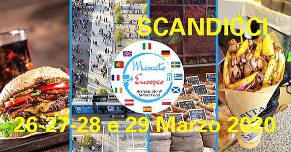 Mercato Europeo Scandicci Marzo 2020 - Anva