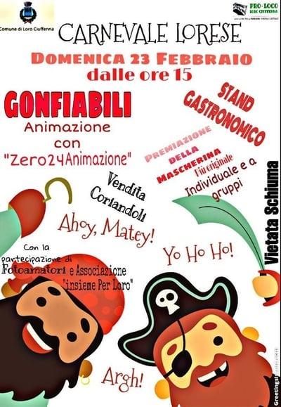 Carnevale Lorese 2020