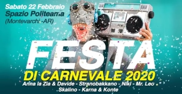 Eventi Carnevale Valdarno 2020