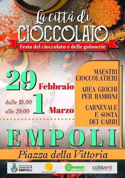Festa Cioccolato Empoli 2020