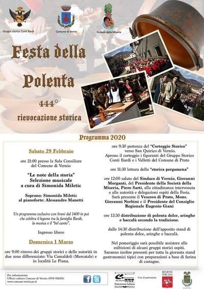 Festa della Polenta Vernio 2020