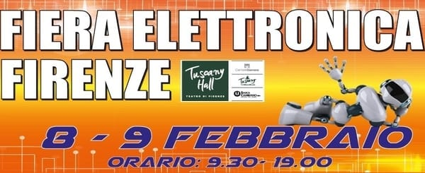 Fiera Elettronica Firenze febbraio 2020