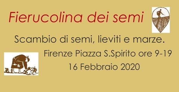 Fierucola Semi Firenze 2020