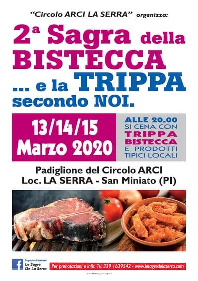 Sagra Bistecca Trippa La Serra