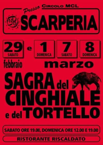 Sagra Cinghiale Tortello 2020