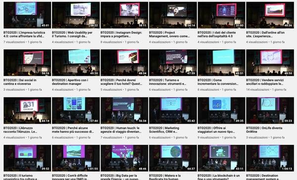 BTO 2020 Firenze Youtube