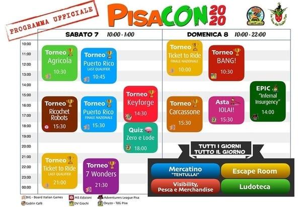 Evento giochi da tavolo Pisa