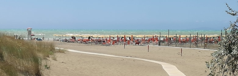Posti di mare Toscana